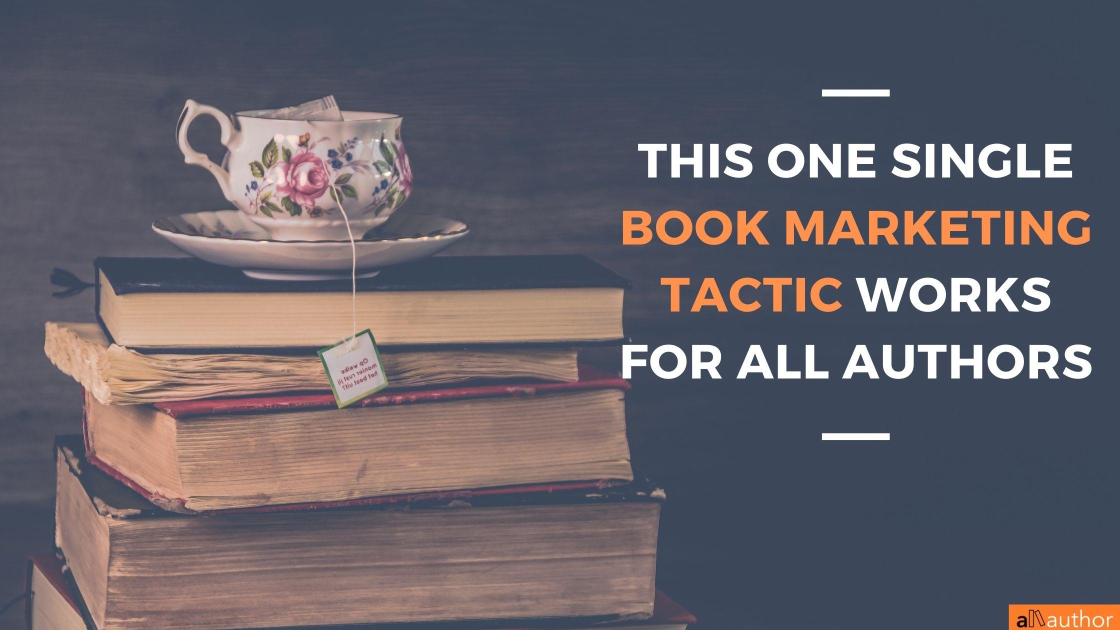book marketing tactic