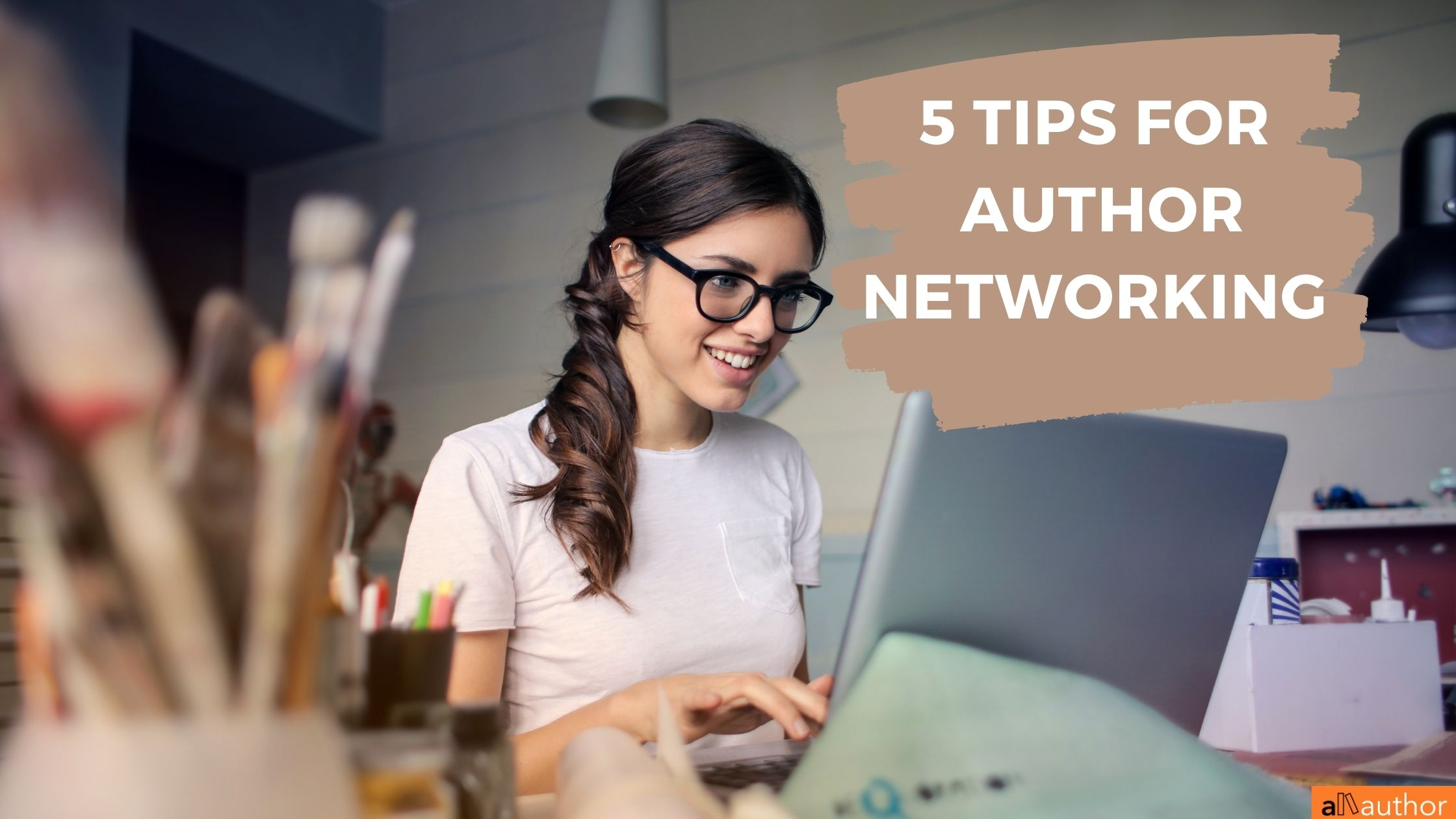 author networking tips