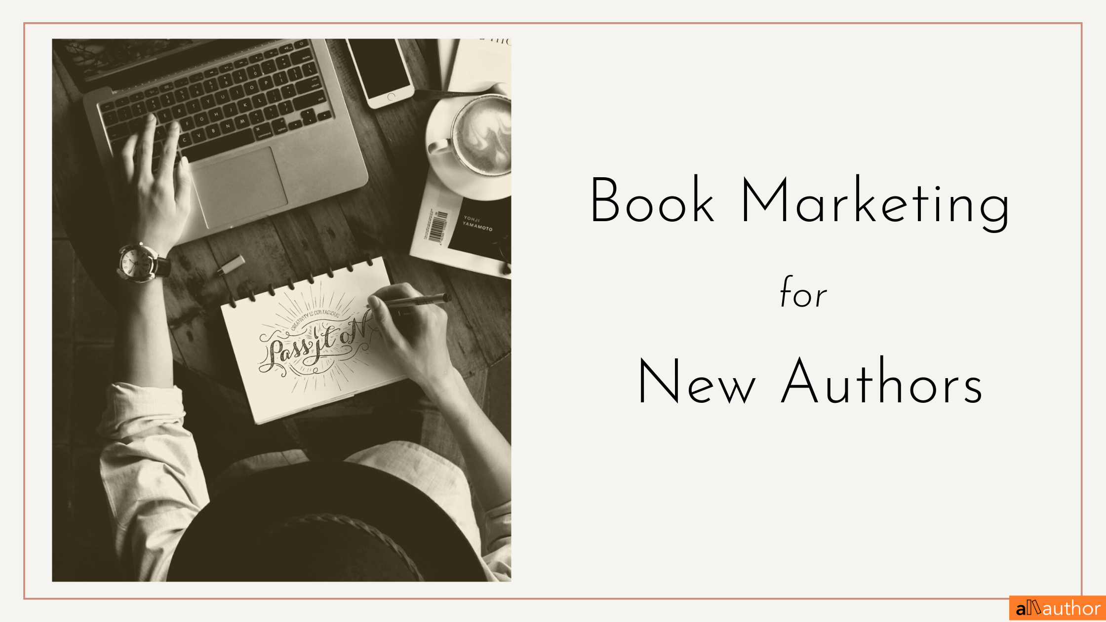 book marketing checklist for new authors